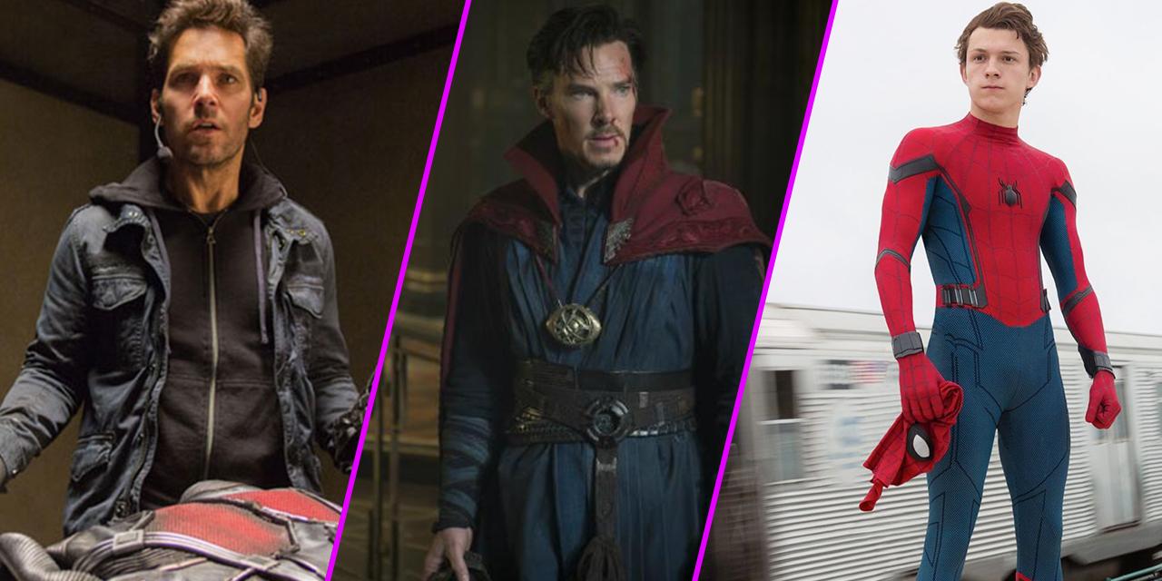 Episode 35: Marvel Rewatch Part 6, Doctor Strange, Ant-Man, Spider-Man