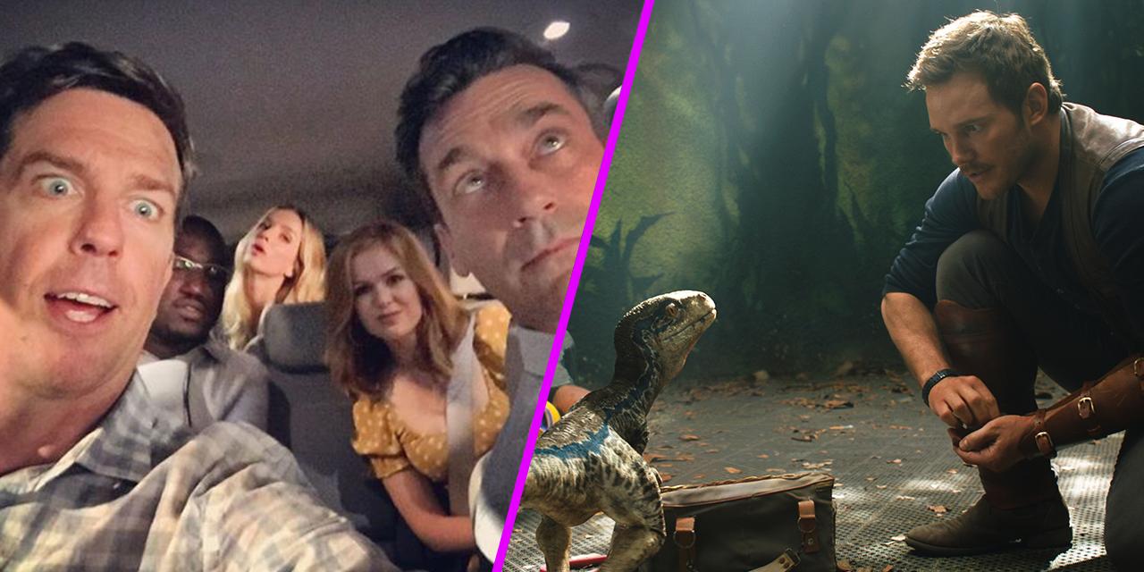 Episode 55: Tag, Jurassic World, And Whatever We Feel Like