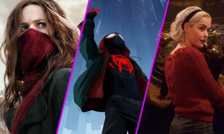 Episode 105: Mortal Engines and Spider-Verse and Sabrina, OH MY!
