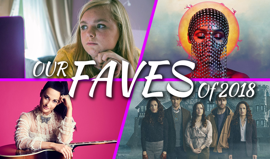 Episode 110: Our Faves of 2018 – Music, Movies, and TV